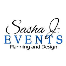 Sasha J. Events logo
