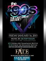 THE LAST GREAT DECADE: 90s Party This Saturday...