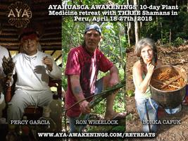 Ayahuasca 'Awakenings' 10-day Plant Medicine retreat...