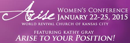 Arise 2015 Women's Conference