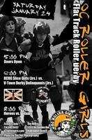 OC Roller Flat Track Roller Derby: OC Jr Slice Girls...