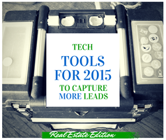 Webinar: 7 Essential Lead-Capturing Tech Tools for 2015