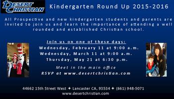 DCS Kindergarten Round-Up