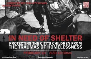 In Need of Shelter: Protecting the city's children...