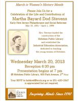 Celebrate Women's History Month with Martha Stevens