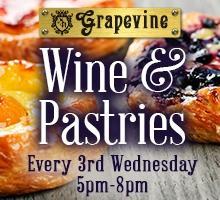 Wine & Pastries - Sweet N' Savory Pastry Bites Wine...