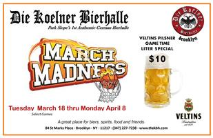 March Madness at the KBH