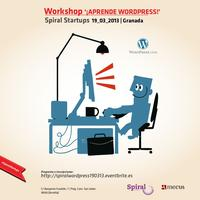 "Workshop ""¡Aprende Wordpress!"""