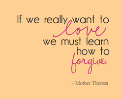 Seeking Peace of Forgiveness