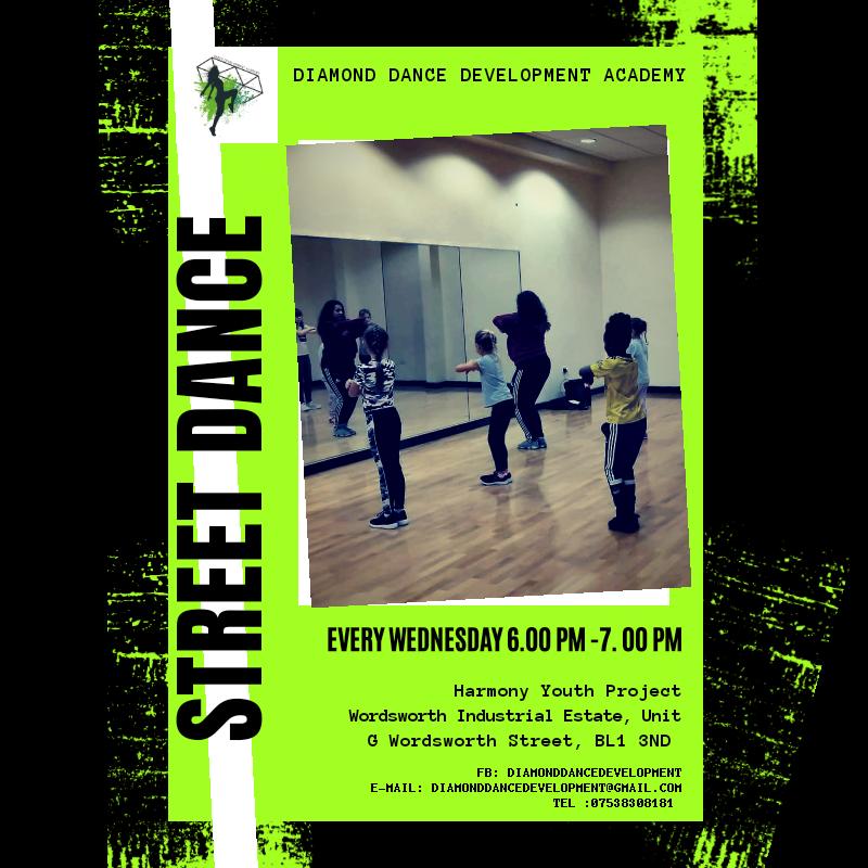 Street Dance for kids - Bolton BL1 3ND