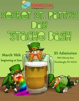 Secret Saint Patty's Day 'Stache Bash