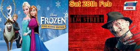 Drive in Movies Fife presents FROZEN (SING ALONG) & A...