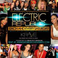 #ElectricRepublic at Krave Lounge