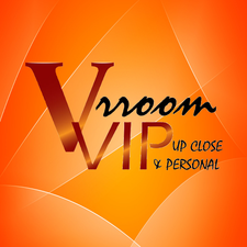 VrroomVIP: Upclose & Personal logo