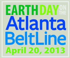 Earth Day on the Atlanta BeltLine 2013
