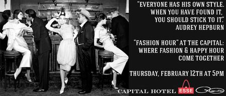 Fashion Hour at the Capital