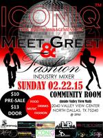 ICONIQ Meet & Greet Industry Mixer Fundraiser