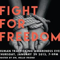 Anti-Human Trafficking Event at #OHFSHOP