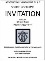 INVITATION VANSWICHT P.I.A.F FONDATION ORDRE...