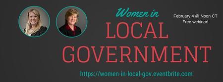 Webinar: Women in Local Gov Leadership