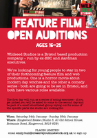 Wildseed Feature Film Auditions