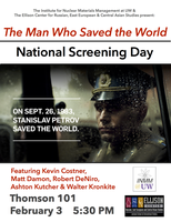 The Man Who Saved The World: National Screening Day at...