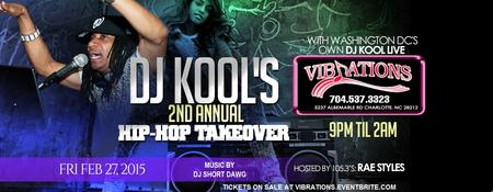 DJ KOOL'S 2ND ANNUAL HIP-HOP TAKEOVER