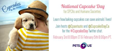 National Cupcake Day #CupcakeDay Twitter Party