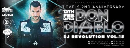 12 Feb (THURS) DJ Revolution Vol.15 DON DIABLO @LEVELS