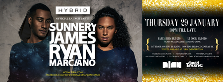 Hybrid Presents: Sunnery James & Ryan Marciano...