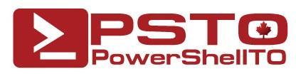 Toronto PowerShell User Group (PowerShellTO) Inaugural...