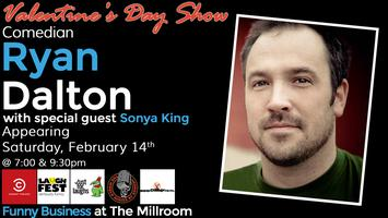 Funny Business @ The Millroom Presents Comedian Ryan...