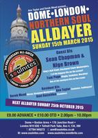 SOULNITES DOME NORTHERN SOUL ALLDAYER 3RD ANNIVERSARY