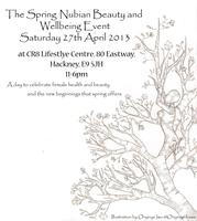 The Spring Nubian Beauty and Wellbeing Event
