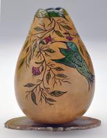 Half Day Class: Hummingbird Vase with Cut Leaf Neck...
