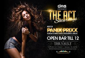 ACT SATURDAYS AT THE VAULT LOUNGE