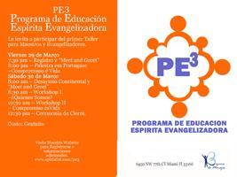 PE3 - Programa de Educação Espirita Evangelizadora Workshop...