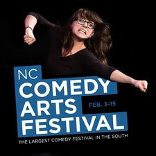 NC Comedy Arts Festival logo