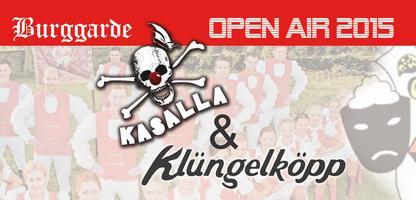 Burggarde Open Air 2015 im Denklinger Burghof