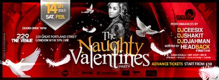 THE NAUGHTY VALENTINES PARTY