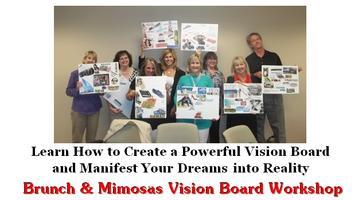 Brunch & Mimosas Vision Board Workshop - Manifest Your...