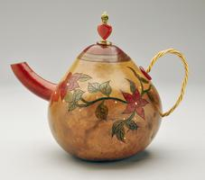 Gourd Art Class: Teapot Gourd