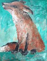 Tipsy Muse Advanced Series Painting Classes - The Fox