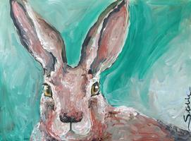 Tipsy Muse Painting Class in time for Easter- THE HARE