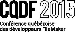 CQDF 2015 - Conférence québécoise des développeurs...