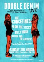 DOUBLE DENIM LIVE PRESENTS FROM THE STICKS ~ THE...