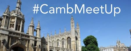 #CambMeetUp Bloggers Event