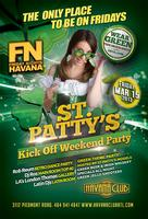 St Patty's Saturday: ShamRock at Havana