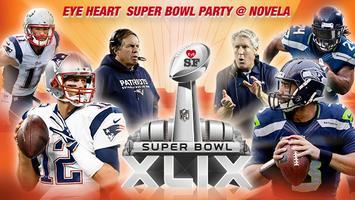Super Bowl Party @ Novela  presented by Eye Heart SF