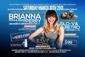 RSVP Saturday March 30th | Brianna Perry Performing...